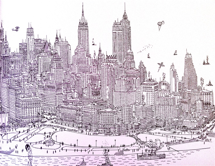 Line Drawing Nyc : 157 best manhattan u003c3 images on pinterest new york city viajes
