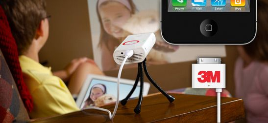 Innovative and Convenient — 3M Mobile Projector