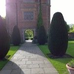 These Sissinghurst sentinels are clipped tight - but in the future they may look shaggy again... http://modernmint.co.uk/ngs-sissinghurst/
