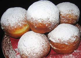 Berliner (The Best German Pastry) One of my favorite pastries as a kid growing up in Germany