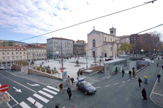 Una foto d'archivio di Campo San...