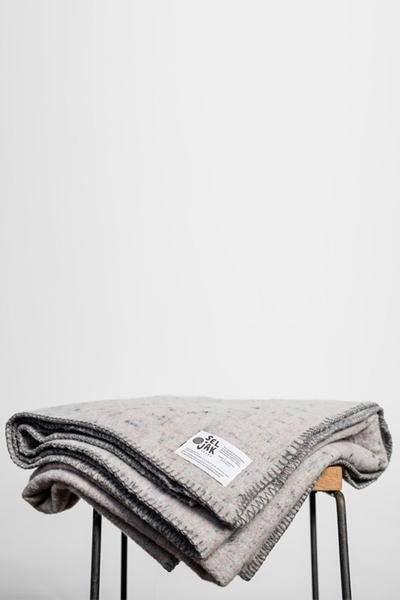 Seljak Recycled Blanket - 152cm x 190cm - Whip Stitch