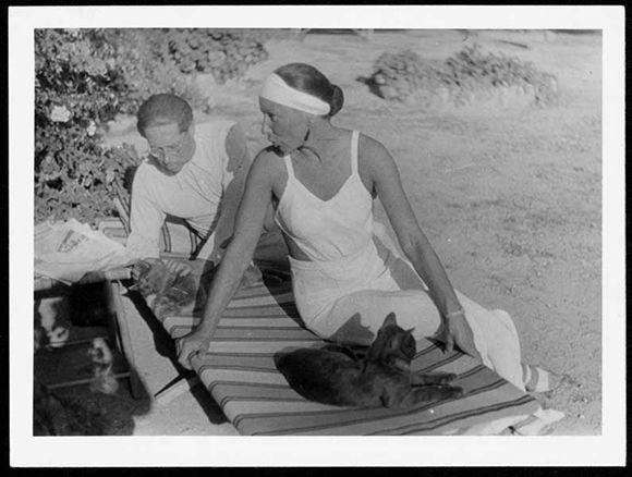 Marta Feuchtwanger   Marta and Lion Feuchtwanger, Sanary-sur-Mer France 1934   Courtesy of ...