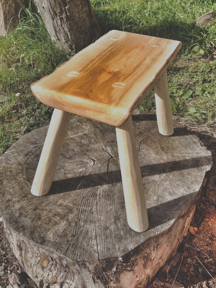 GREENWOOD STOOL | Wood ~ Stools & Benches | Pinterest