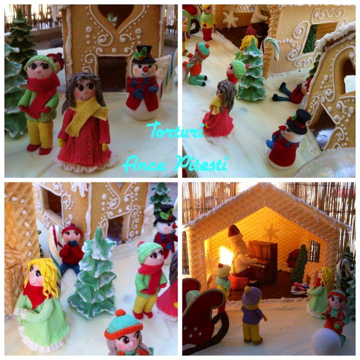 Santa claus and kids!