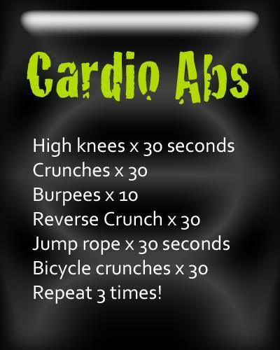 Get quick workout ideas!
