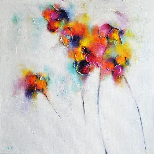 Textured Flowers