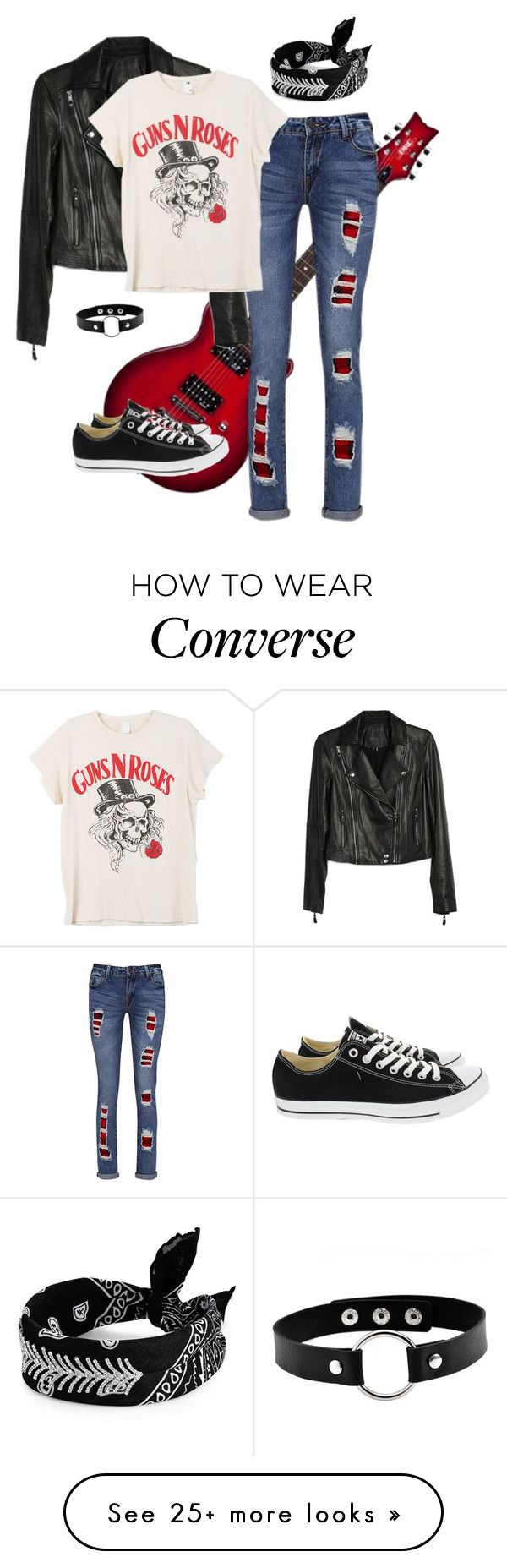 """Untitled #513"" by puppylove7 on Polyvore featuring Elite, Joe Browns, Converse, Paige Denim, MadeWorn and Fallon"