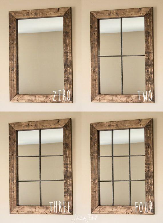 Window Wall Mirror best 20+ rustic mirrors ideas on pinterest | farm mirrors