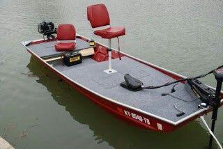 Jon boat to bass boat conversion