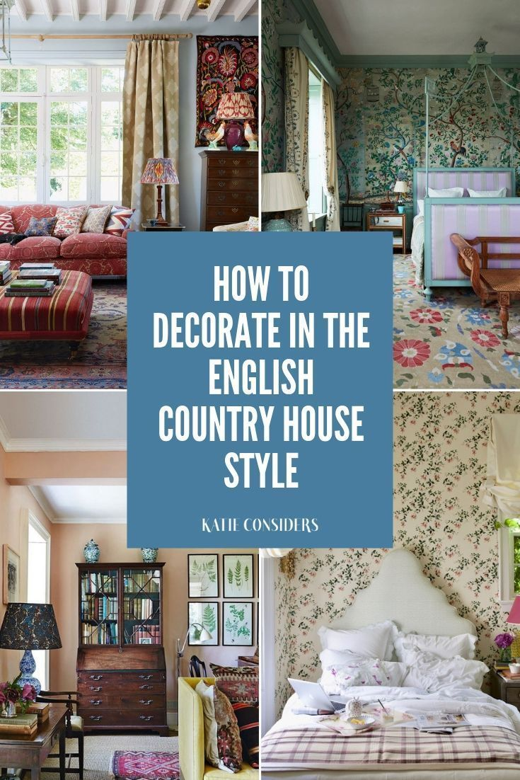 How To Decorate Your Home In The English Country House Style Mit - Englischer Landhausstil Deko