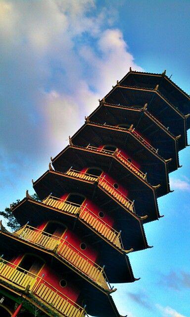 #pagoda #Tomohon #Manado