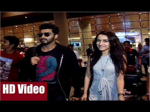 Arjun Kapoor & Shraddha Kapoor spotted together at Mumbai Airport.  #arjunkapoor #shraddhakapoor #mumbai #mumbaiairport #bollywood #bollywoodnews #bollywoodnewsvilla