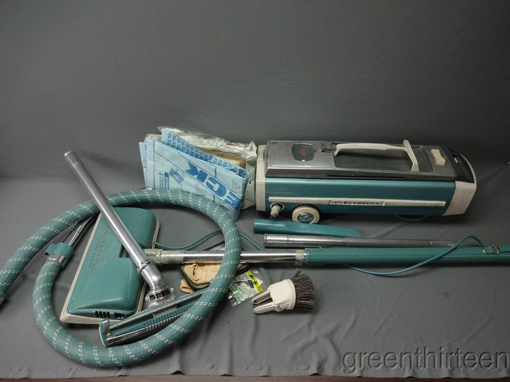 Vintage Electrolux Canister Vacuum 12