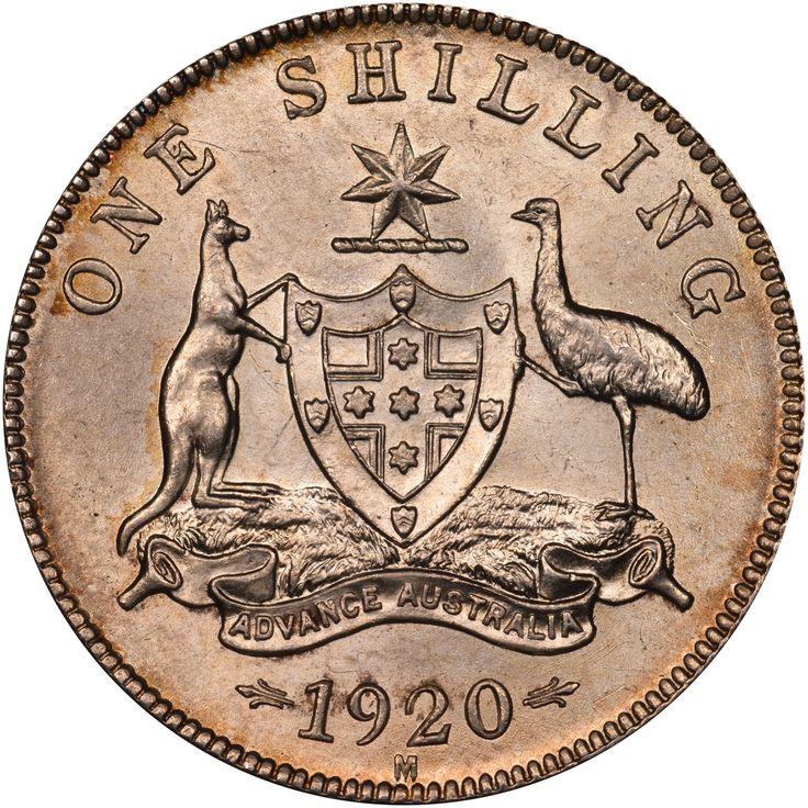 One shilling Australia, 1920