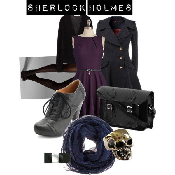 """Sherlock Holmes"" by hessemorgansr on Polyvore"