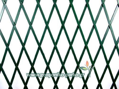 Πλαστικοί φράχτες - Πέργκολες : Πλαστική πέργκολα 1x2 m