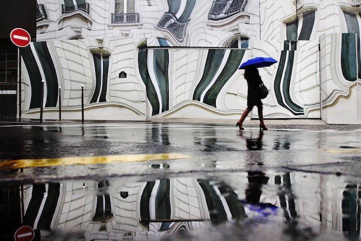 Romantic Cinematic Photos in the Rain and Snow - My Modern Metropolis