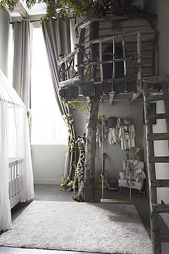 Indoor treehouse Baumhaus für drinnen; Kinderzimmer