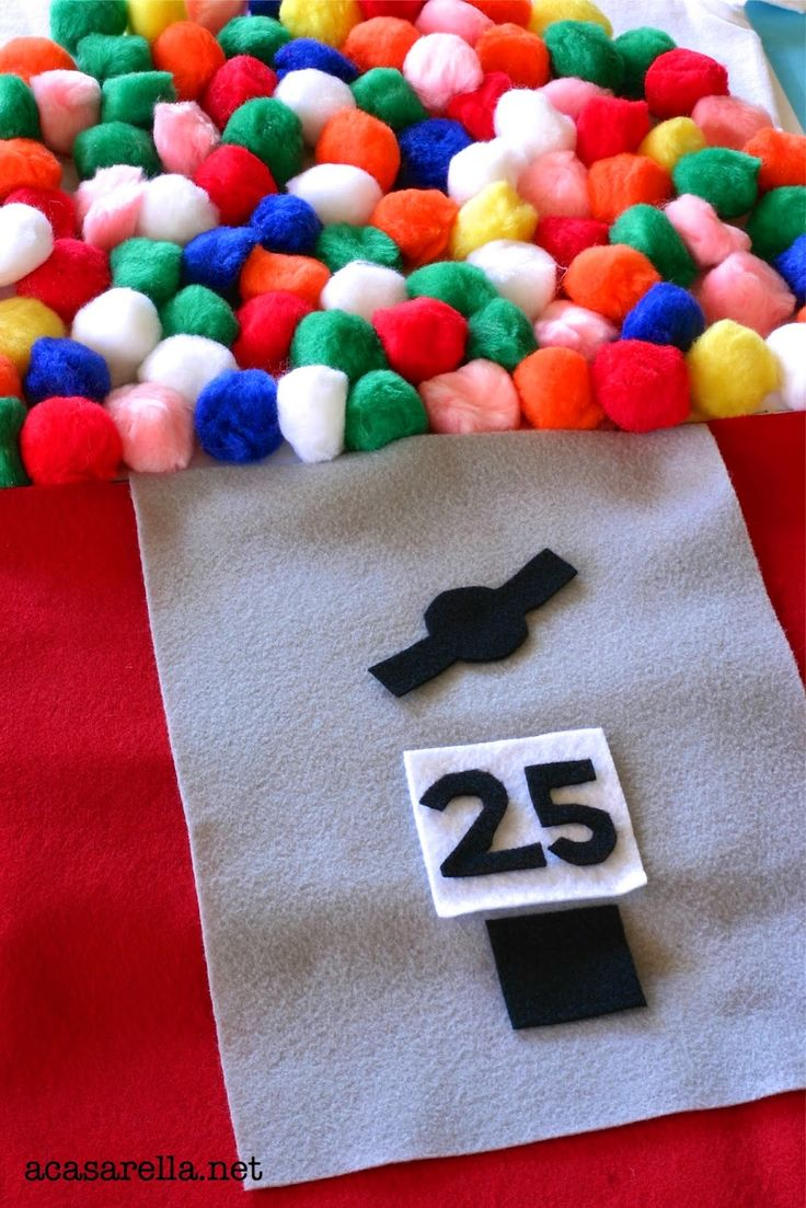 Those cute Gumball Machine Halloween Costumes you've been seeing all over the internet?  Learn how to make one here.