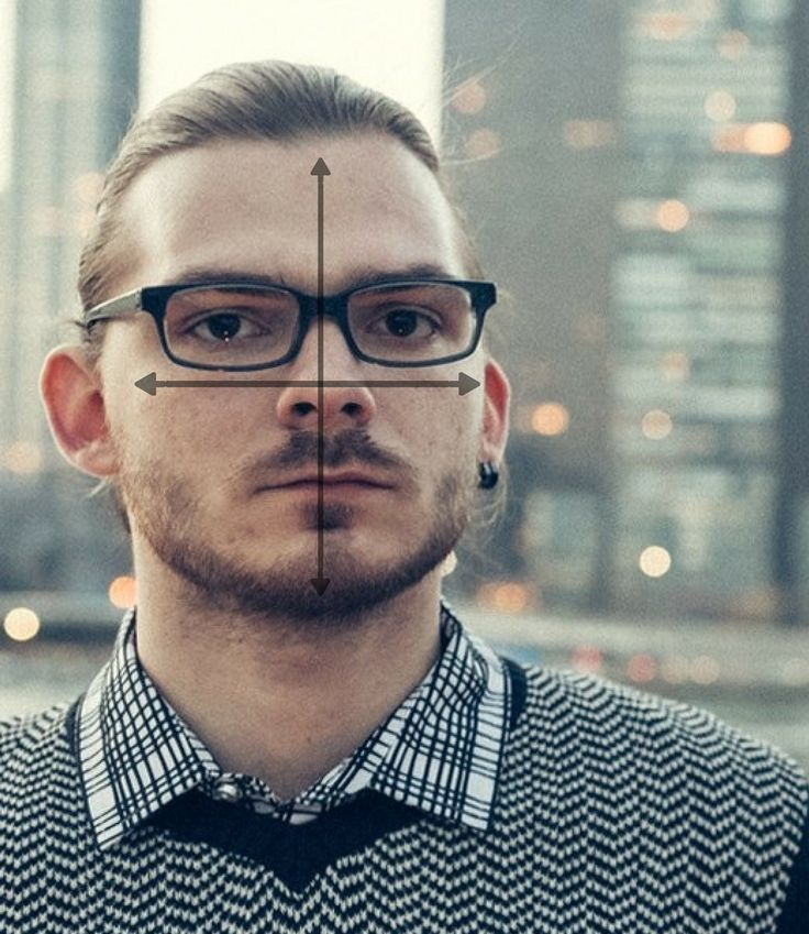 Eyewear Face Shape Guide: What Glasses & Sunglasses Fit Your Face, #Eyewear #face #fit #Glas…