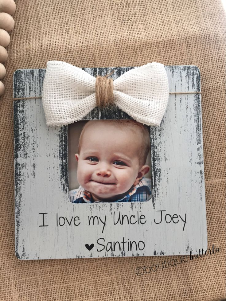 Gift for Uncle Fathers Day Uncle Brother Personalized Picture Frame Grandpa Personalized Gift Uncle Godfather Brother Christmas Gift