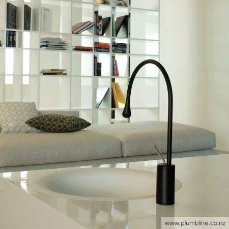 Goccia Mid Basin Mixer R90mm Spout - Goccia - Bathroom Tapware - Bathroom