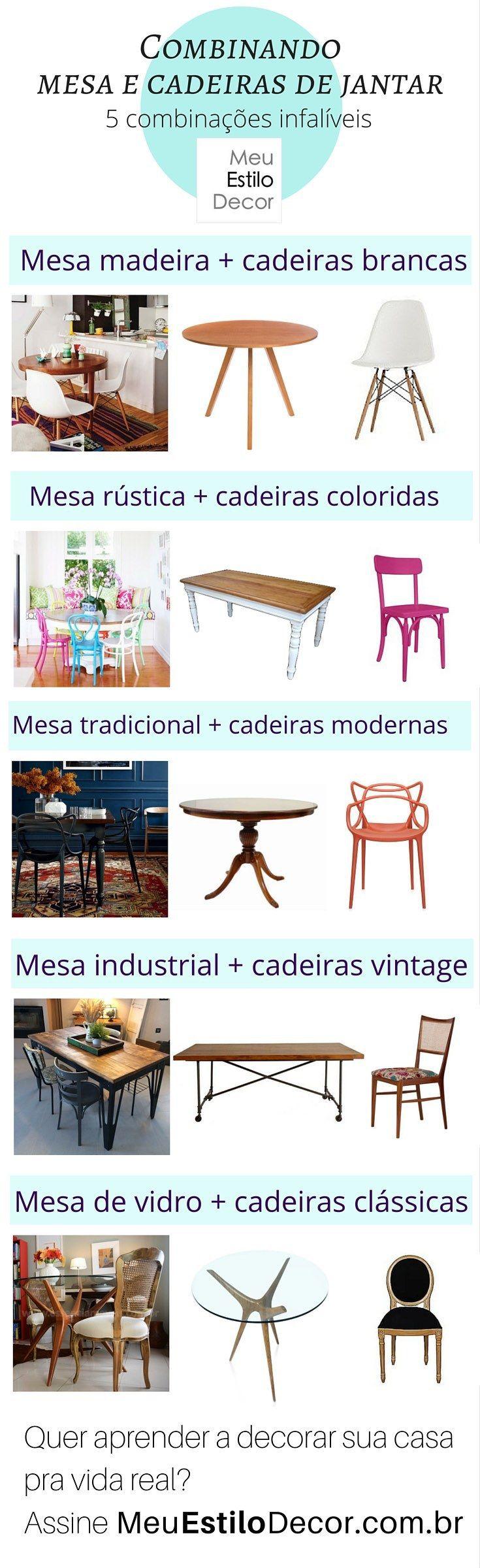 Conjuntinho é chato. Mas se você usar estes princípios simples de design, logo estará combinando mesa e cadeiras de jantar como um profissional.Eu te ensino