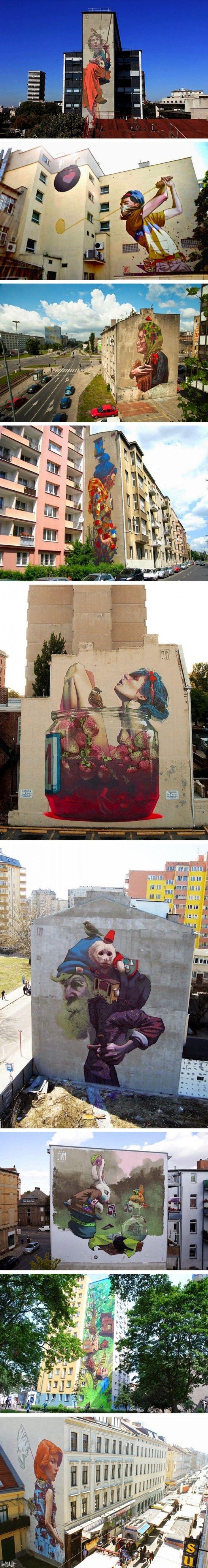 İnanılmaz Boyutlardaki Sokak Sanatı Çizimleri www.4finite.com