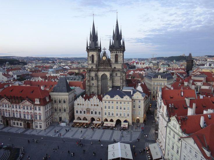 Наше путешествие в Прагу