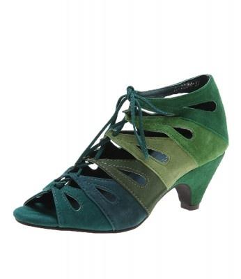 Django & Juliette - Polyanna Green Multi