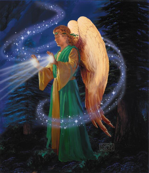 May the healing light of Archangel Raphael shine upon you today and always. Archangel Raphael is the angel of healing. Meditate with Archangel Raphael asking him to help you heal any situation at the moment♥