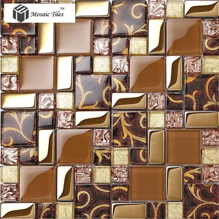 56 best crystal glass tiles images on Pinterest | Glass tiles ...