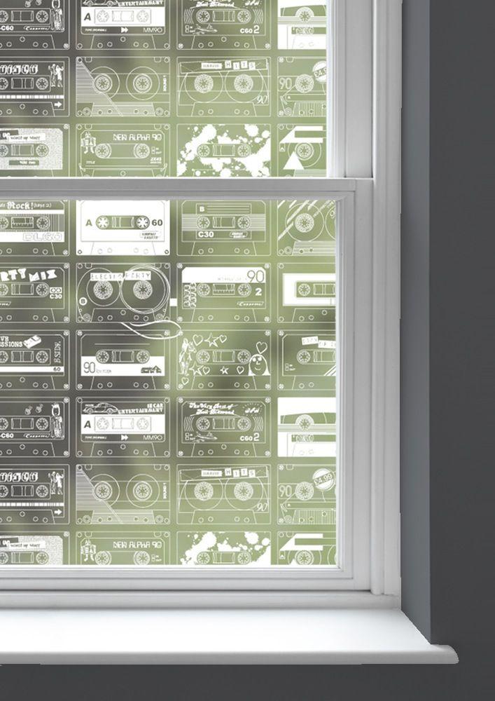 Mini Moderns cassette tape C-60 Window Film
