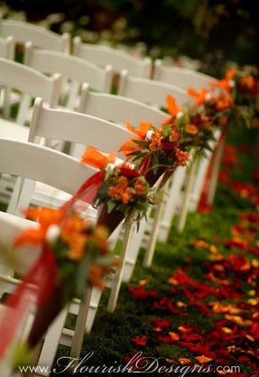 outdoor october wedding | Outdoor October wedding idea. | I'm gonna love you forever and ever...