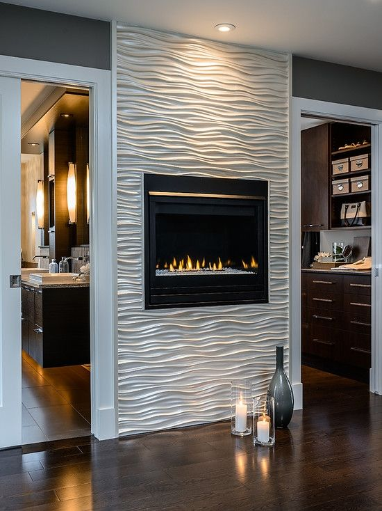 contemporary fireplace - Fireplace Wall Designs