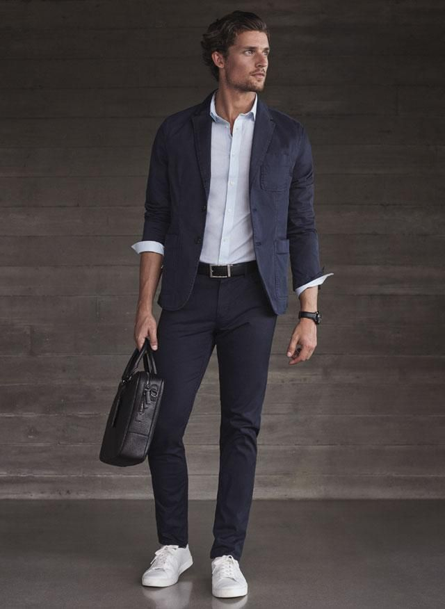 Latest Coat Pant Designs Navy Blue Casual Custom Made Summer Groom
