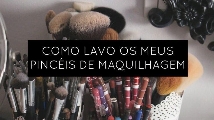 Como lavo os meus Pincéis de Maquilhagem | Be Creative Be You