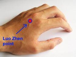 luo zhen acupressure point for stiff neck