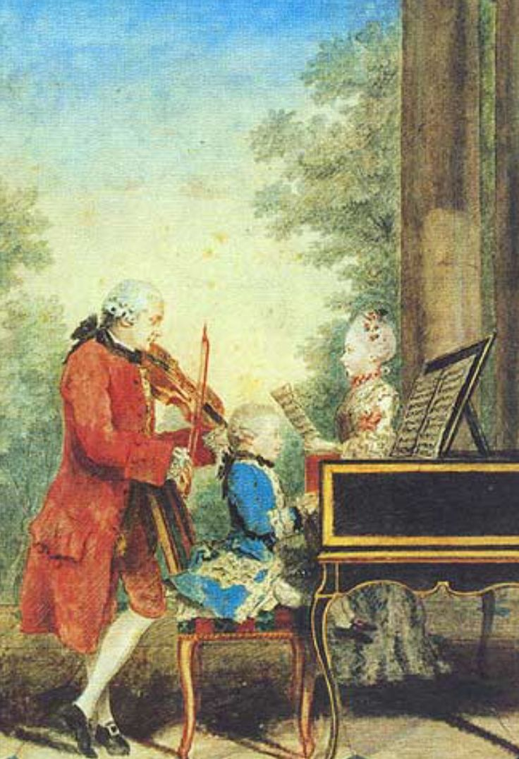 Image result for mozart child playing keyboard