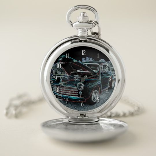 '47 Classic Automobile Pocket Watch