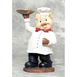 Fat Little Piggy Chef~~~. Chef Kitchen DecorHeads