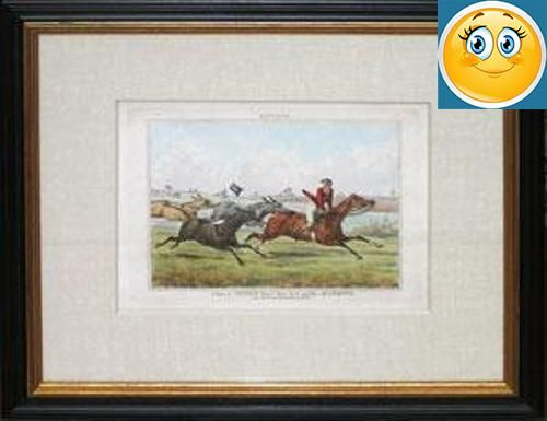 "#prints Henry Alken (1785-1851) Notions series London: 1832 Hand-colored aquatint engraving 16 ½"" x 19 ½"" #framed #Henry Thomas Alken was born into a family of su..."