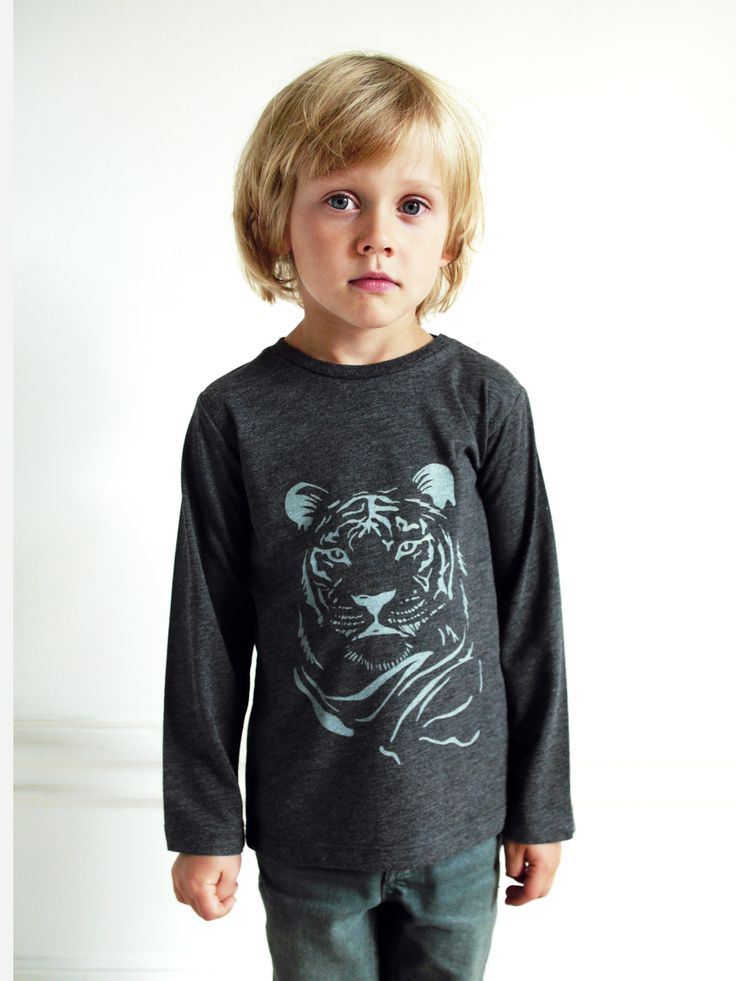 ONE tee Tiger by Göthner www.onewelike.com