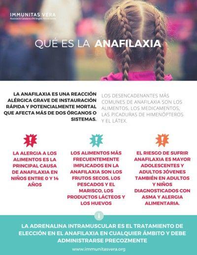 ¿Qué sabes sobre la anafilaxia? #alergia #infantil                                                                                                                                                      Más