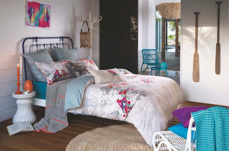 Camomile Quilt Set by Kas - Island Edition from Harvey Norman NewZealand