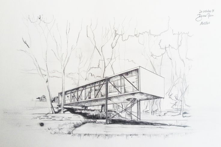Die besten 25 fluchtpunkt zeichnen ideen auf pinterest schulalter kunsthandwerk fluchtpunkt - Architektur skizzen zeichnen ...