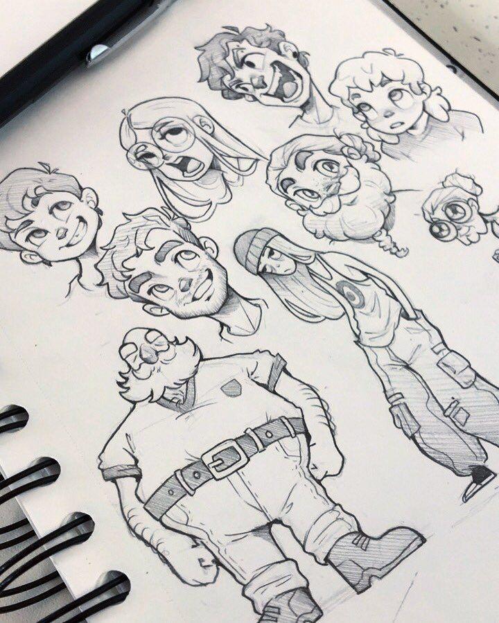 Zeichenideen Cartoon Art Styles Concept Art Characters Drawing Cartoon Faces