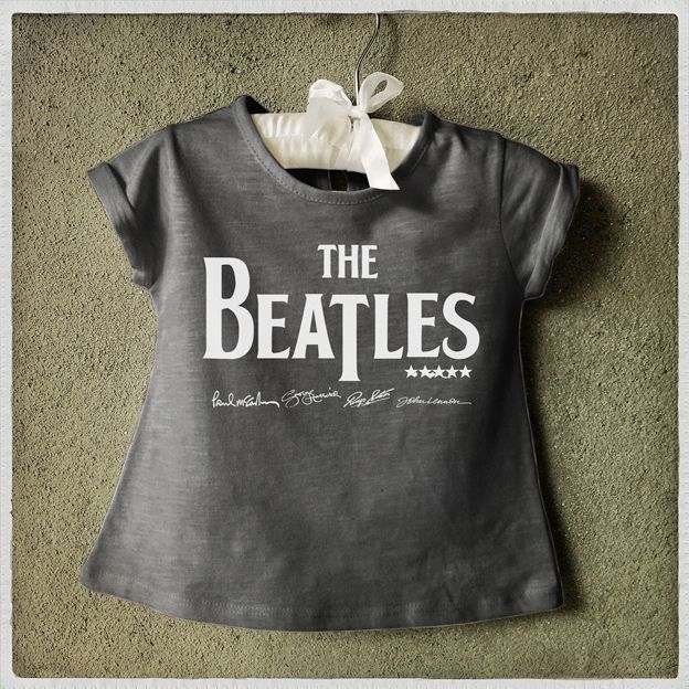 Camiseta The Beatles infantil Kids T-shirt