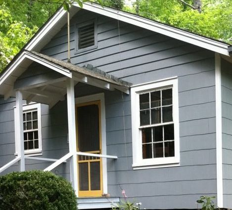 Best Benjamin Moore Gray Timber Wolf Siding Exterior Paint 400 x 300